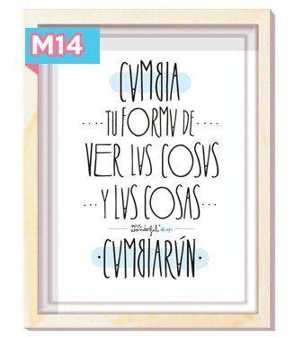 Frases Cuadros Modernos Originales Personalizados Cuadros