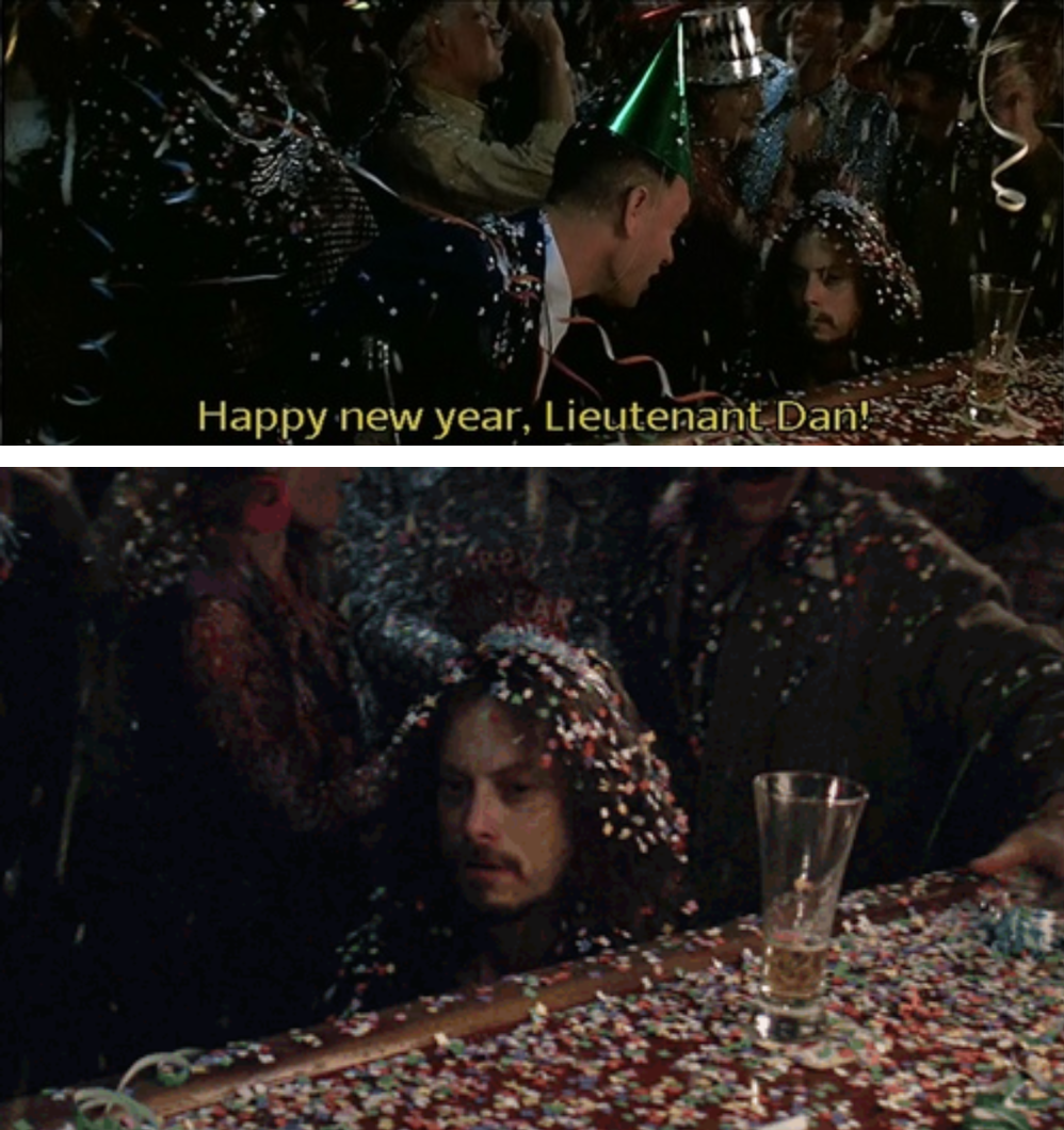 Forrest Gump Funny Quotes: Forrest Gump - New Years