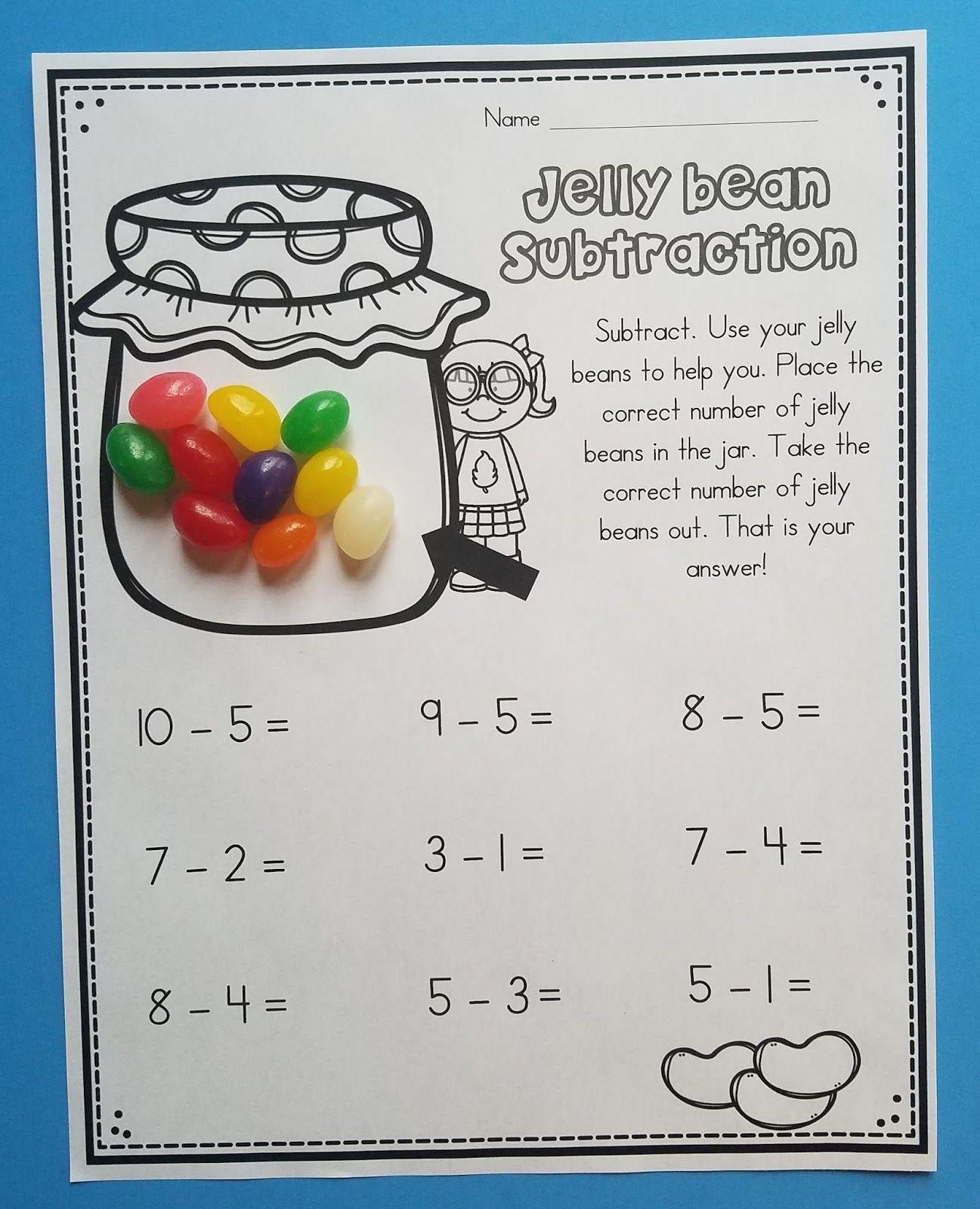 10 Jelly Bean Math Activities In