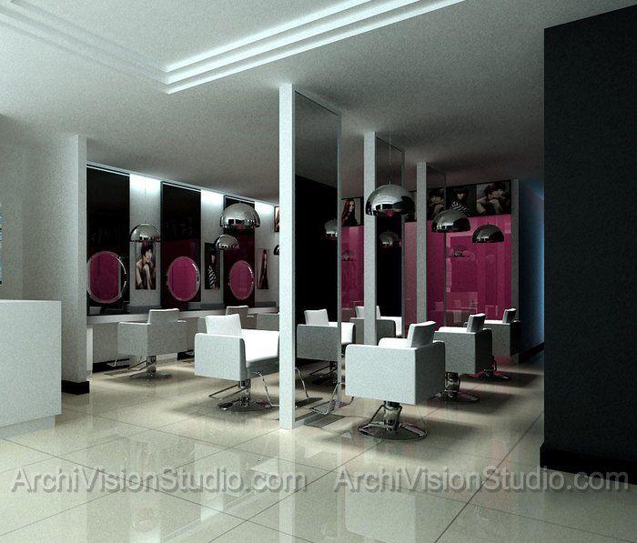 Hair salon layout design for Salon design layout