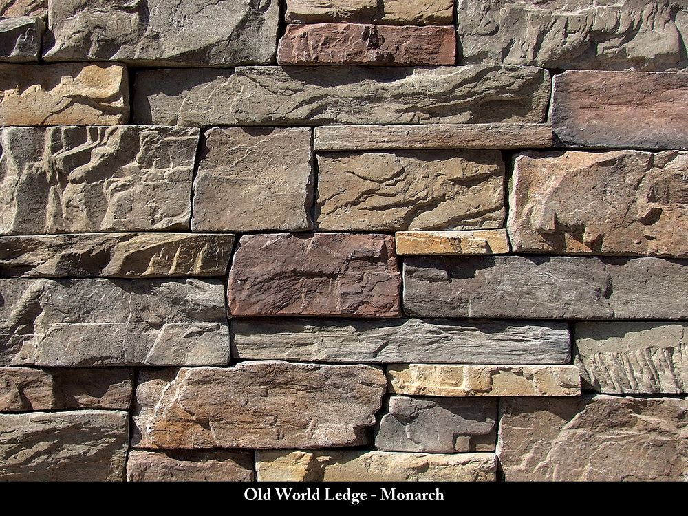 Old World Ledge Stone Veneer Monarch Outdoor Patio Pool And Landscaping Pinterest
