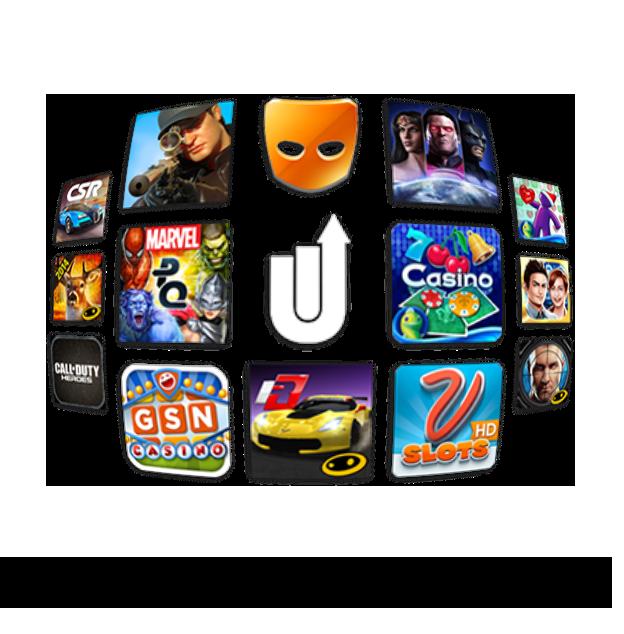 Top Grossing Apps Use Upsight ___ ? • Upsight