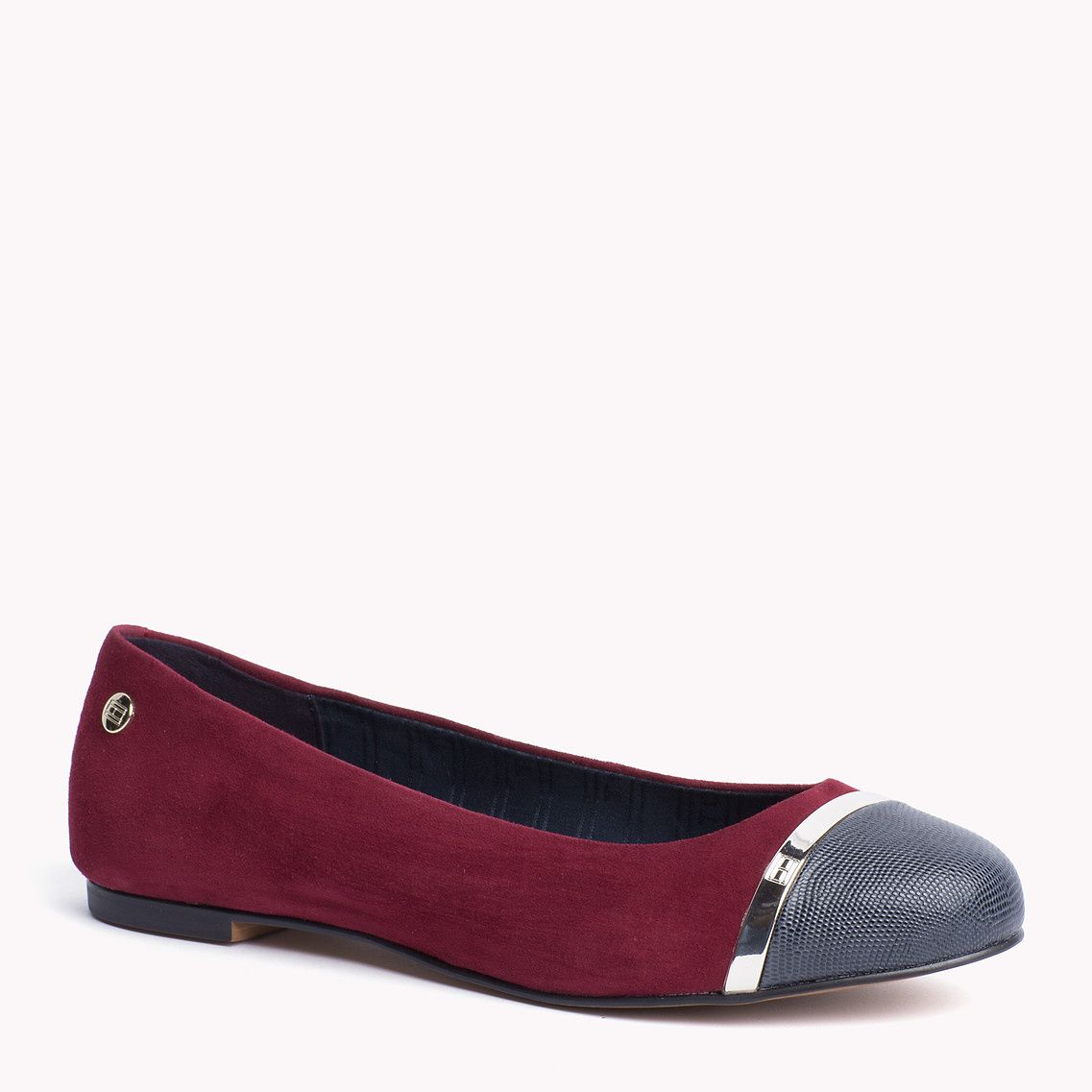 Tommy Hilfiger Anne Ballerina. Part of our Tommy Hilfiger women's footwear collection