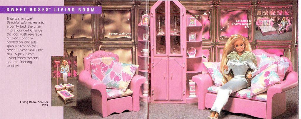 Barbie Sweet Roses Furniture | Pinterest | Barbie playsets ...