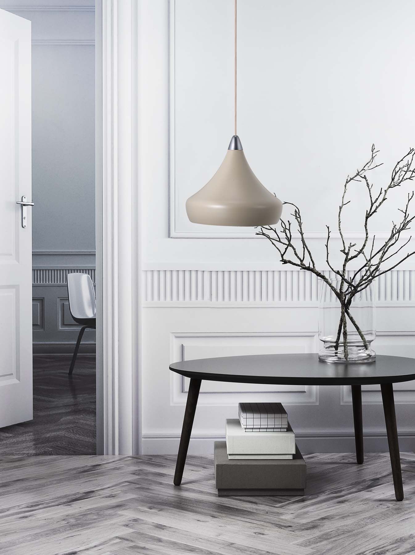 scandinavian lighting design. Fascino | Pendant From Nordlux Designed By Seidenfaden Design Nordic And Scandinavian Style Produced In Sanded Metal With Textile Cord Light Lighting V