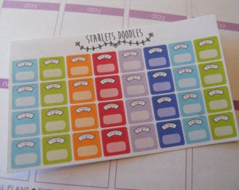 Scale Planner Stickers. Perfect for your Erin Condren Life Planner and Plum Paper Planner.