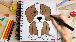 How To Draw A Beagle Fun Drawing Lessons For Kids Adults