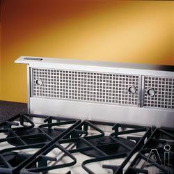 Broan Rmdd Downdraft Ventilation System With Internal Or External Blower Options Infinitely Adjustable Co Ventilation System Appliances Design