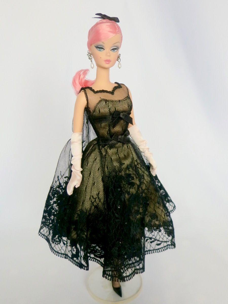 Cocktail Barbie Silkstone Reroot Wide Eyed Girls - One-Of-A-Kind (OOAK) Fashion Dolls by Dan Lee