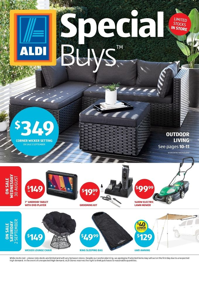 Aldi Catalogue 6 June 12 2018 Aldi Summer Specials