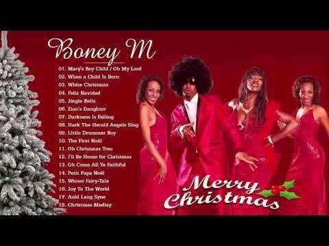 Boney M - Christmas Album 2018 - Merry Christmas Songs - YouTube   Boney m, Chanson, Chanson de noel