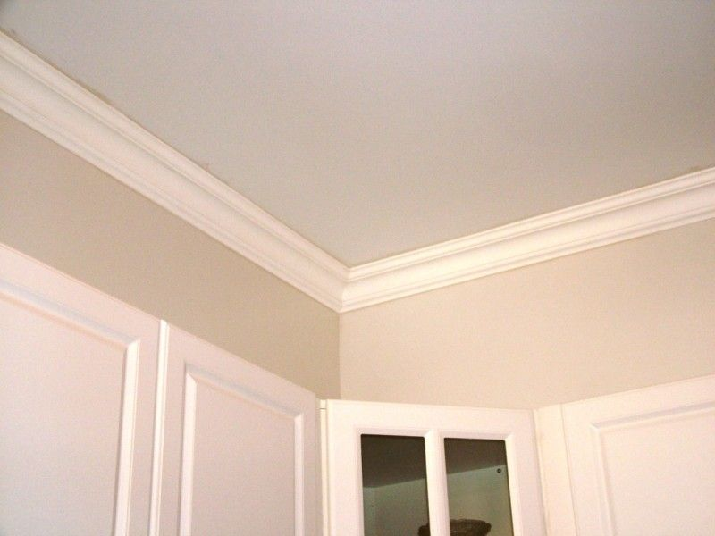 Styrofoam Crown Molding 6 In Wide 8 Ft Long Plain 110 Dct Home Moldings And Trim Home Remodeling