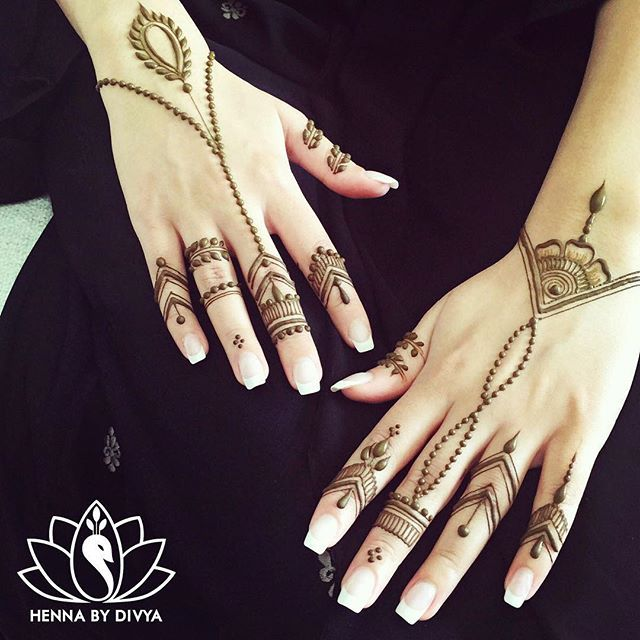 One of the many #eidhenna appointments from last week in Dubai. This one has to be one of my favorites!  #henna #hennapro #eidhenna #hennabydivya #hennaart #hennaartist #mehndi #mehndiart #eid2015 #hennadesigns