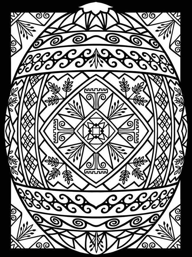 Mandala Para Celebrar La Fiesta De Pascua