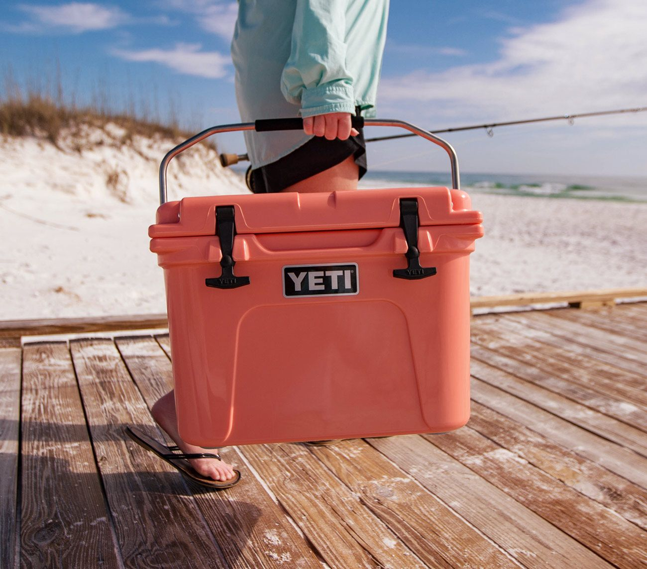Coral Or Bright Color Or Clemson Roadie Cooler Yeti Cooler Yeti Coolers Yeti Roadie