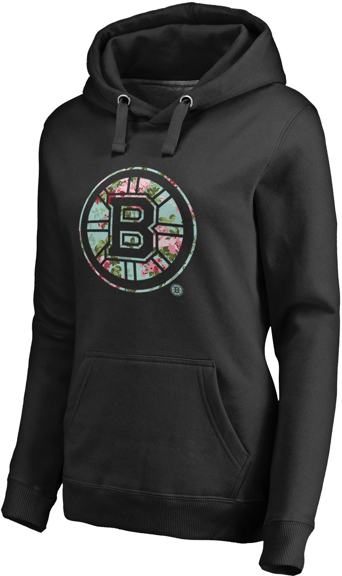 63a85d9c NHL Women's Boston Bruins Lovely Black Pullover Hoodie in 2019 ...