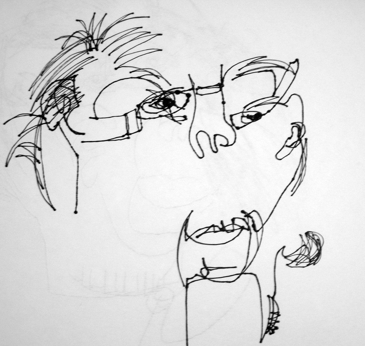 Blind Contour Vs Contour Drawings