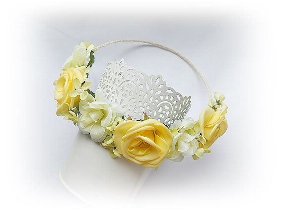 Flower WreathFlower CrownHair AccessoriesBridal by SajmonArt