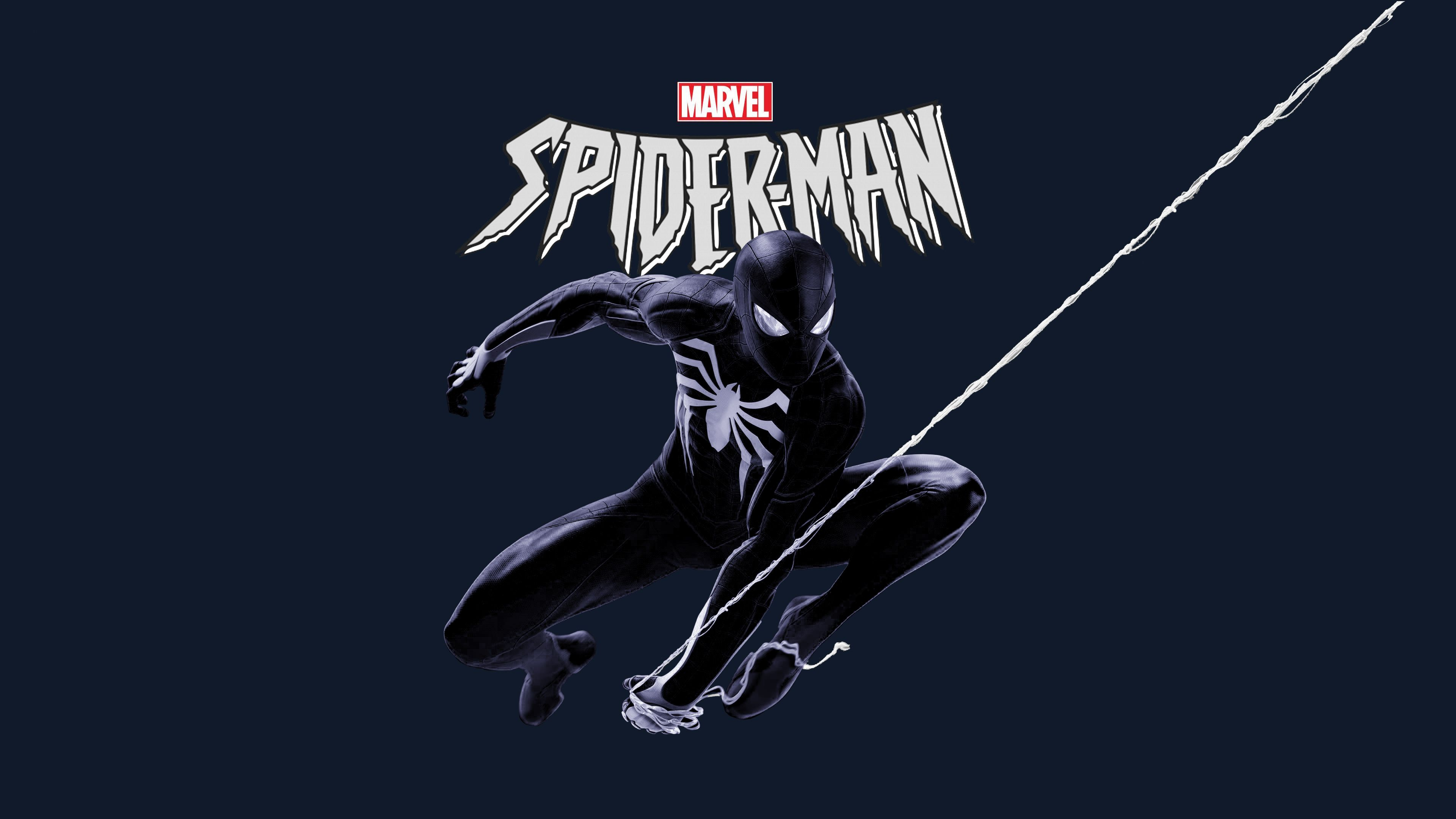 Marvel Black Spiderman 4k Superheroes Wallpapers Spiderman Wallpapers Hd Wallpapers 4k Wallpapers Symbiote Spiderman Spiderman Spiderman Pictures