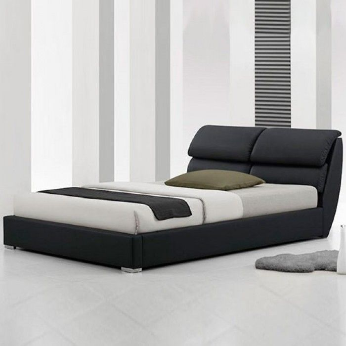 Libretto Modern Designer Leather Bed - Luxury Leather Beds - Beds.co ...