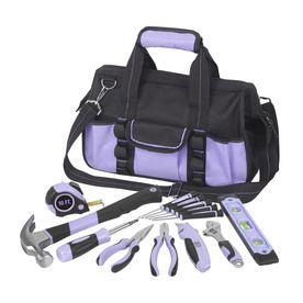 Small Home DIY Multi Tool Kit Soft Case Set 30 Pcs Hand Household Tools Bag New