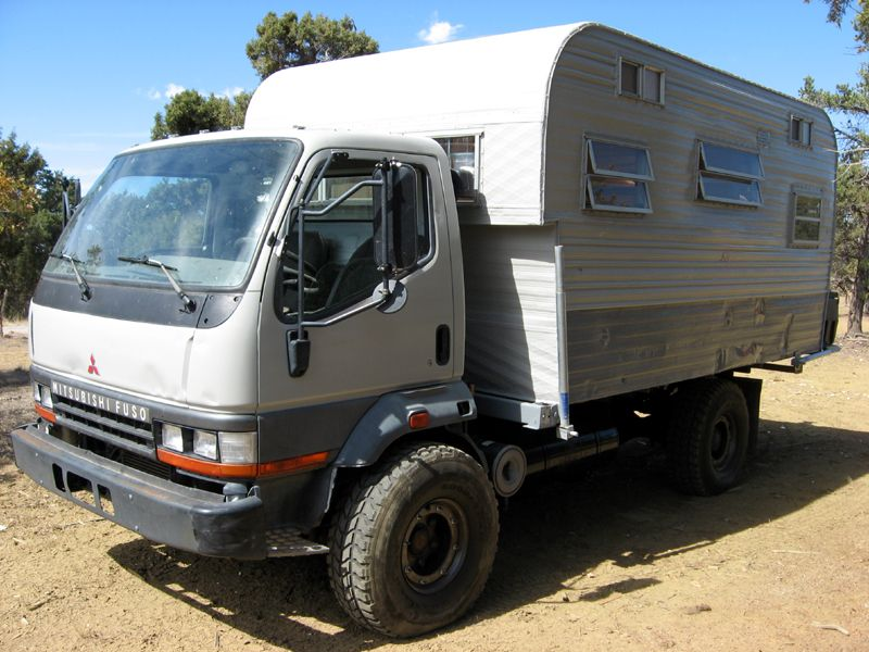 western junk for town campers sale motorhome trailers fuso mail cape caravans overland mitsubishi and
