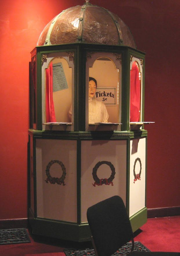Victorian Music Hall Ticket Booth Theatre Ticket Booth Set Design Theatre Movie Room