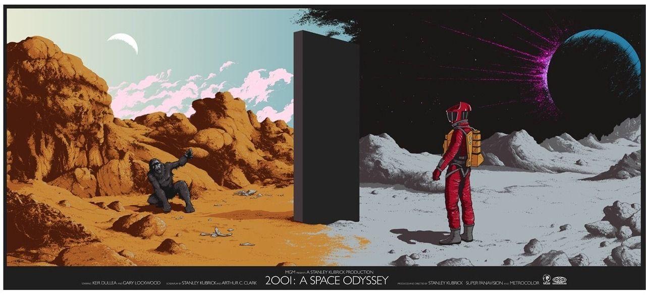 2001 A Space Odyssey (1968) 1280 x 585 MoviePosterPorn - resumen 8 millas