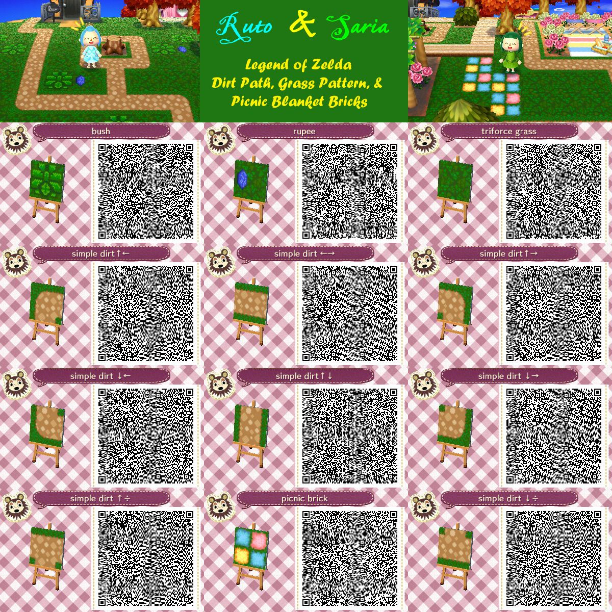 Related Image Acnl Rooms Amp Qr Codes T Animal