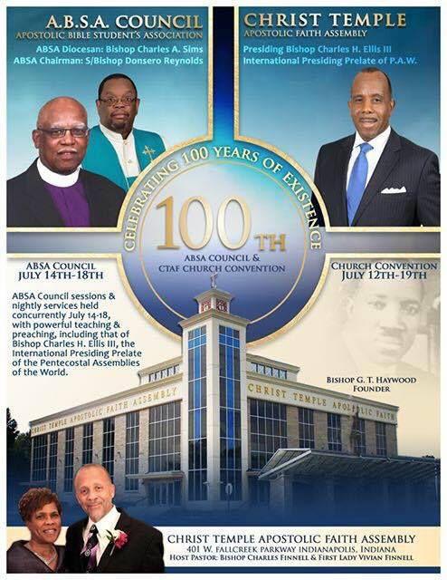 Christ Temple Apostolic Faith Assembly 401 West Fallcreek Parkway