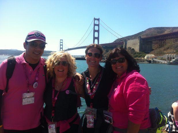 CRI at the Susan G Komen Breast Cancer 3-Day in San Francisco.