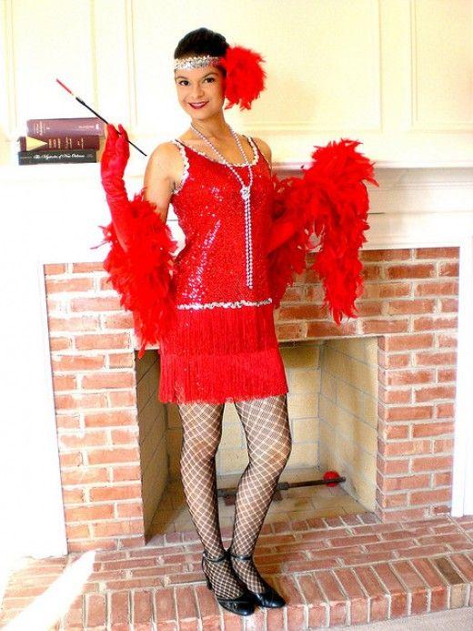 Diy flapper girl costume 1920s great gatsby dresses accessories diy flapper girl costume 1920s great gatsby dresses accessories hair makeup ideas solutioingenieria Gallery