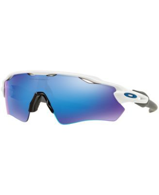 Sunglasses, Oo9208 Radar Ev Path, White Shiny Blue Mirror   Oakley ... e07ea3c17a8e