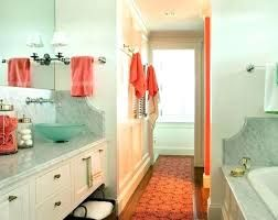 Image Result For Red And Turquoise Bathroom