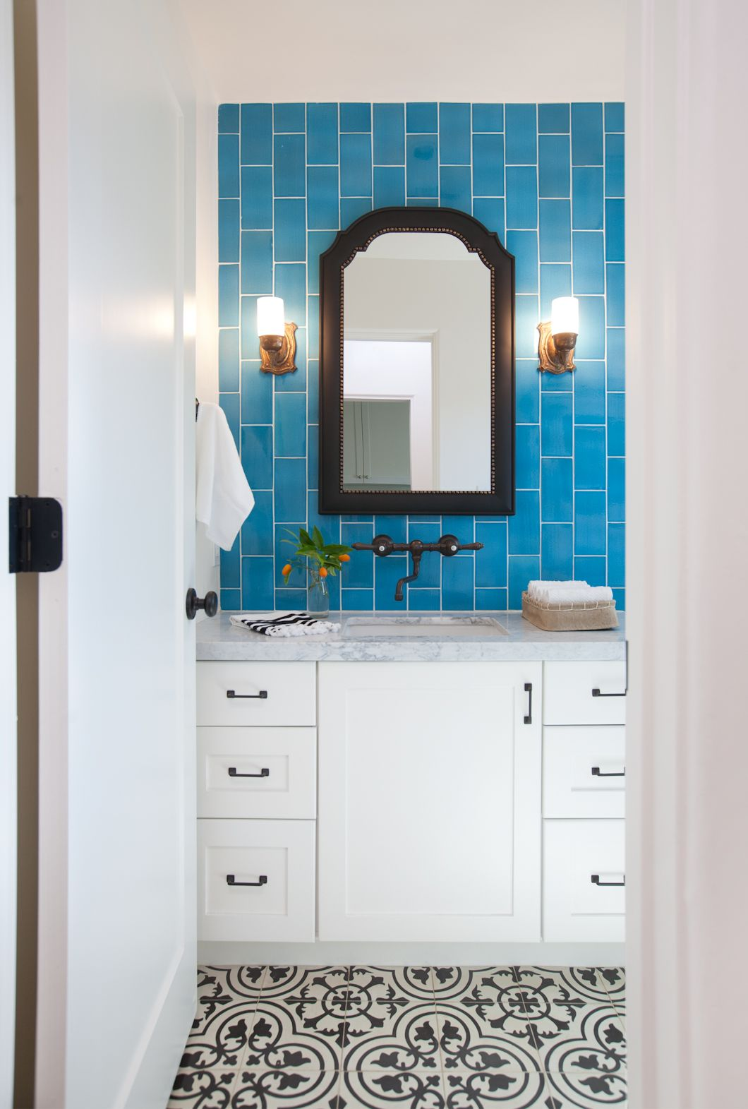 For this beautiful #bathroom update, Jaimee Rose Interiors used our ...