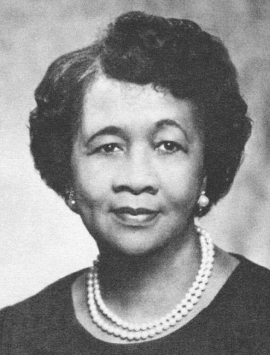 A young and beautiful Dorothy Height.