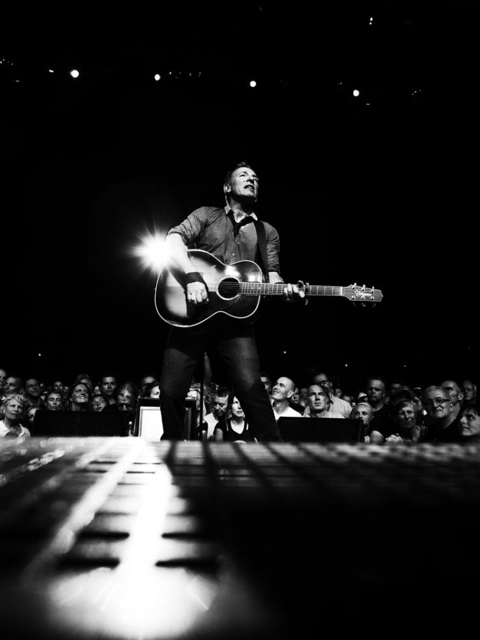 Bruce Springsteen in Australia on February 12, 2014.
