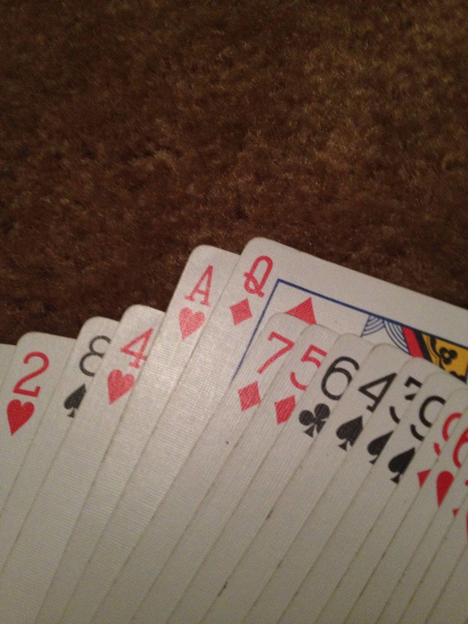 How To Do A Simple Card Trick Recipe Easy Card Tricks Card
