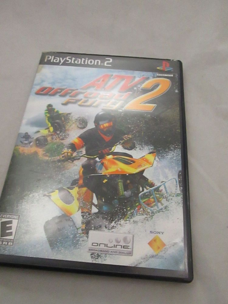 ATV Offroad Fury 2 (Playstation 2) PS2 Video Game - Complete
