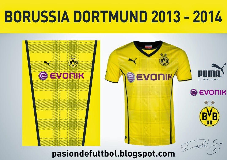Diseños, Vectores y Templates para Camisetas de Futbol: BORUSSIA ...