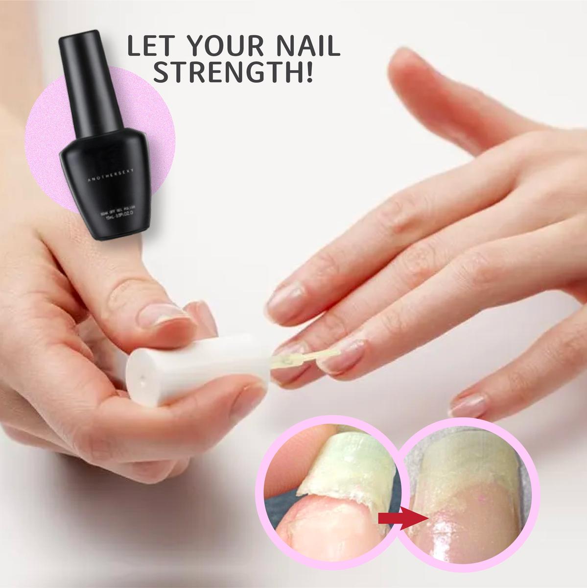 Instant Nail Repair Protect Gel Giraffenine Nail Repair Instant Nails Cracked Nails