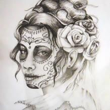 dia de los muertos tattoos | Tattoo.com | Tattoo Designs and Photography you Can Collect & Share