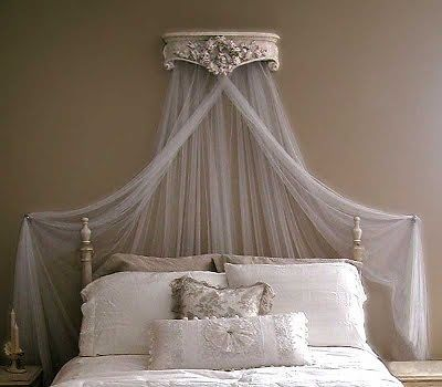 Corona Per Letto Baldacchino.Glamorous French Vintage Style Ciel De Lit Bed Canopy Crown Corona