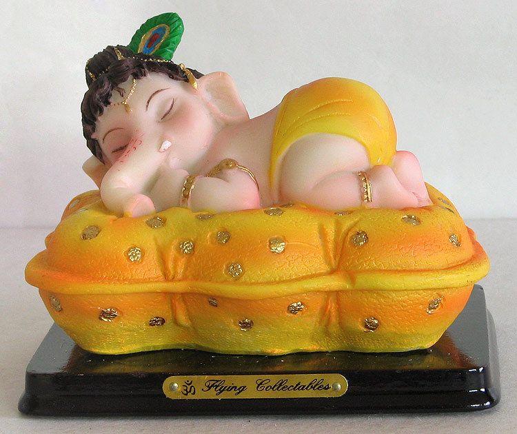 Sleeping Ganesha Oh So Cute Baby Ganesha Ganesha Elephant God