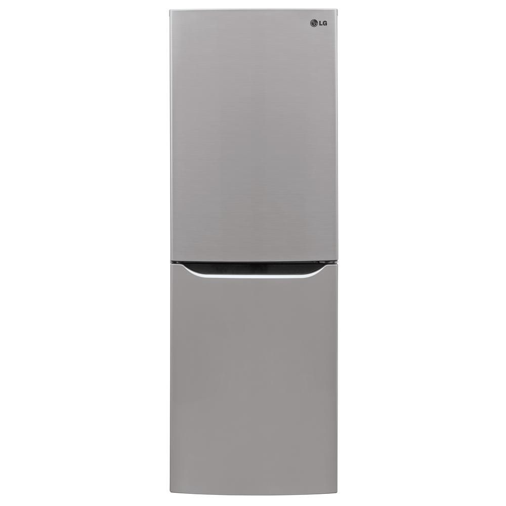Lg Electronics 10 Cu Ft Bottom Freezer Refrigerator In Platinum Lbn10551ps Bottom Freezer Bottom Freezer Refrigerator Refrigerator