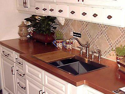 Copper Countertops Sinks Counter Tops Backsplash Rd Herbert Sons Kitchen Pinterest Copper Countertops Countertops And Sinks