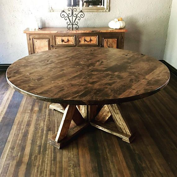 Round Dining Tables Ideas And Styles For Sophisticated: Round Dining Table - Custom