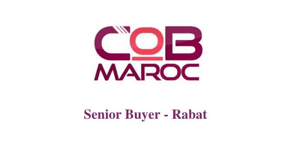 Job Openings At Cob Maroc Senior Buyer With English French Rabat Dreamjob Ma Offre De Stage Cabinet De Recrutement Maroc