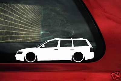 2x Low Vw Passat B5 Estate Wagon 18t20v Turbov5 Outline