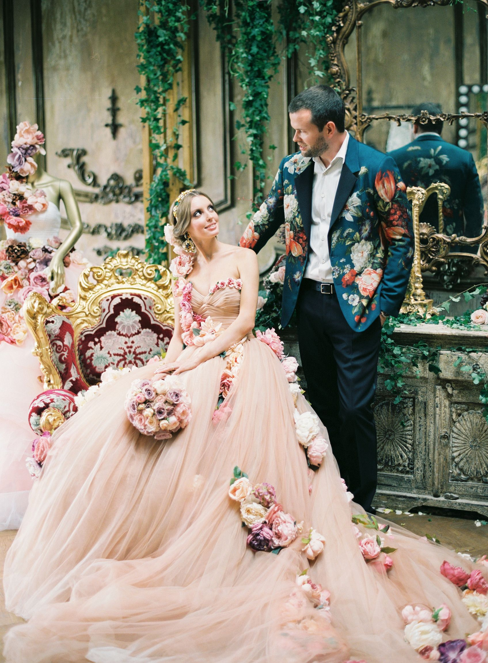 High Fashion Russian Wedding   Pinterest   Russian wedding, Pink ...
